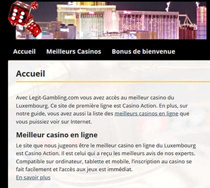 Legit Gambling au Luxembourg